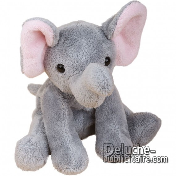 Buy Elephant Plush 15 cm. Plush to customize.
