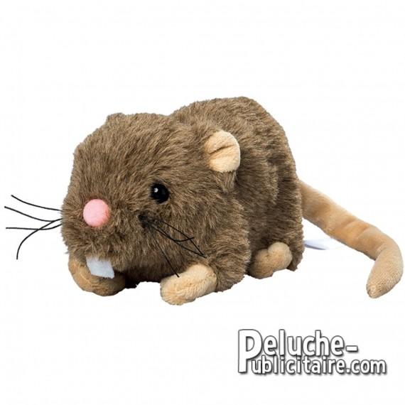Achat Peluche Rat 15 cm. Peluche à Personnaliser.