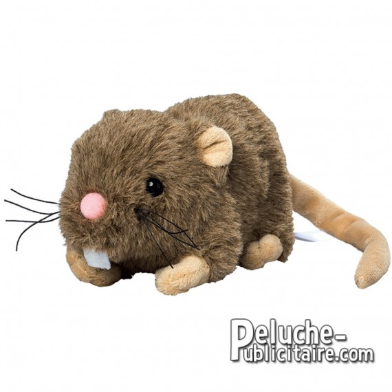 Buy Plush Rat 15 cm. Plush to customize.