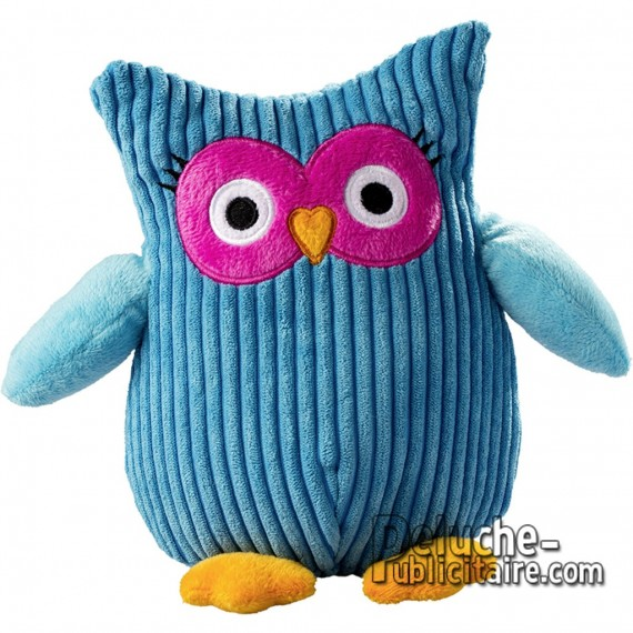 Purchase Owl Plush 17 cm. Plush to customize.