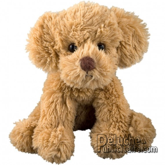 Buy Plush Dog 15 cm. Plush to customize.
