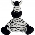 Purchase Zebra Plush 18 cm.Plush to customize.