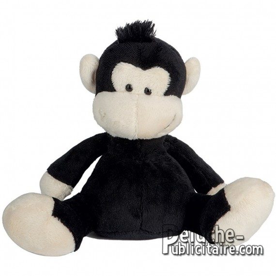 Buy Plush Monkey 18 cm. Plush to customize.