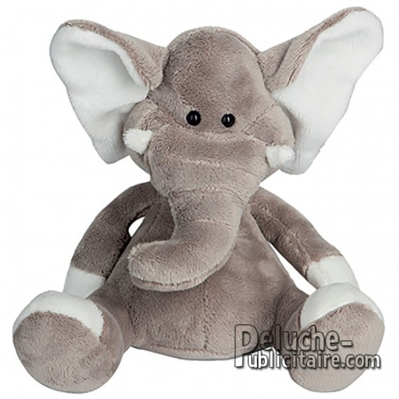 Buy Elephant Plush 18 cm. Plush to customize.