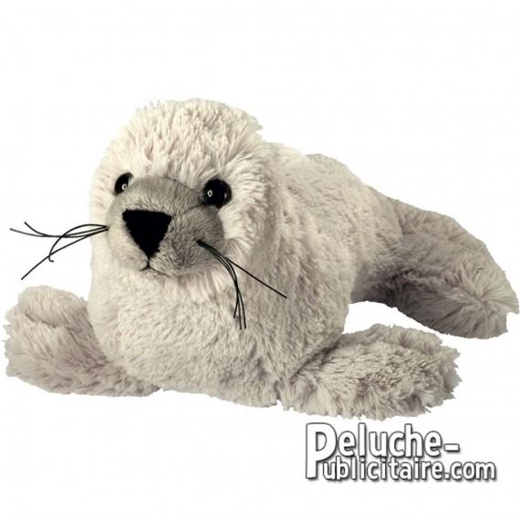 Purchase Plush Seal 19 cm.Plush to customize.