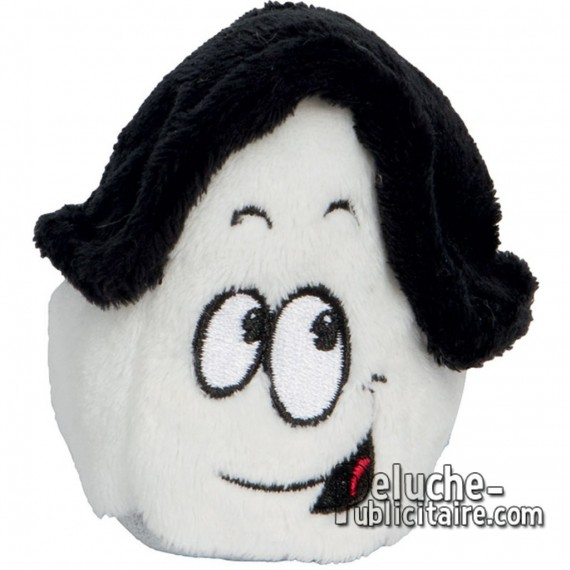 Purchase Homemade Plush Roof Black 7 cm. Plush to customize.