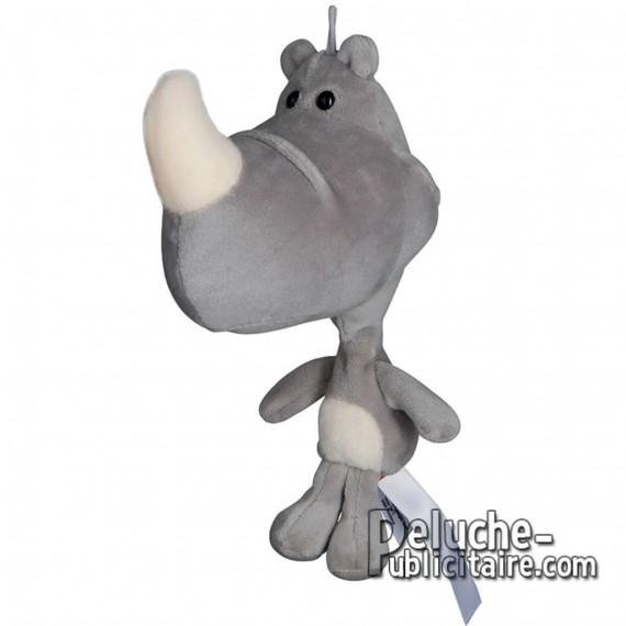 Purchase Rhinoceros Plush 21 cm.Plush to customize.