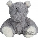Purchase Rhinoceros Plush 20 cm. Plush to customize.