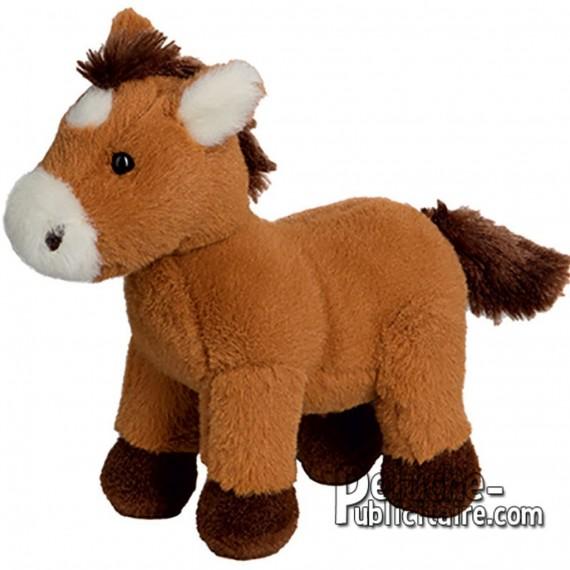 Buy Plush Horse 15 cm.Plush to customize.
