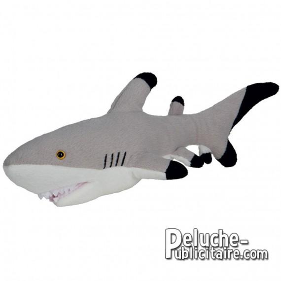Achat Peluche Requin 30 cm. Peluche à Personnaliser.