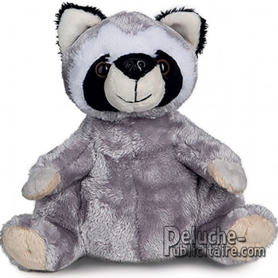 Buy Raccoon Plush 20 cm. Plush to customize.