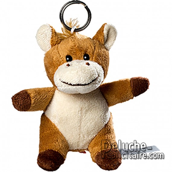 Buy Keychain Teddy Horse Size 10cm. Plush to customize.