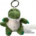 Buy Keyring Plush Crocodile Size 10 cm.