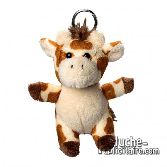 Buy Keyring Plush Giraffe Size 10 cm.