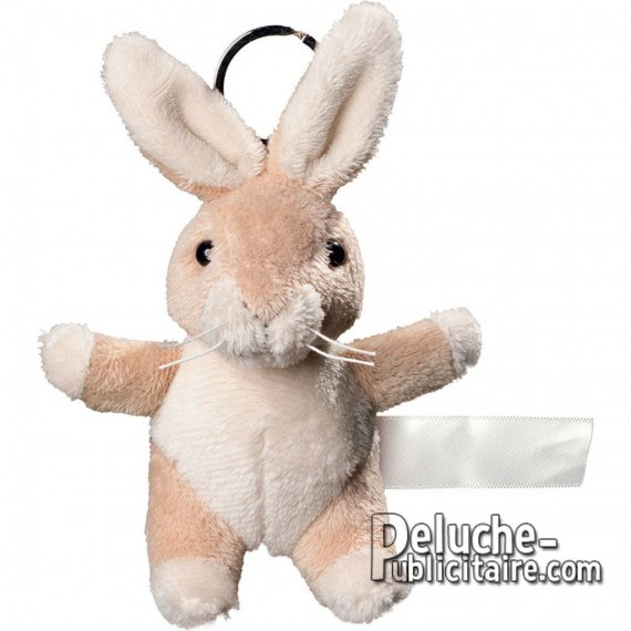 Buy Keychain Plush Rabbit Size 10 cm.