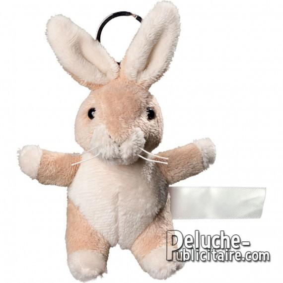 Buy Keychain Plush Rabbit Size 10 cm.
