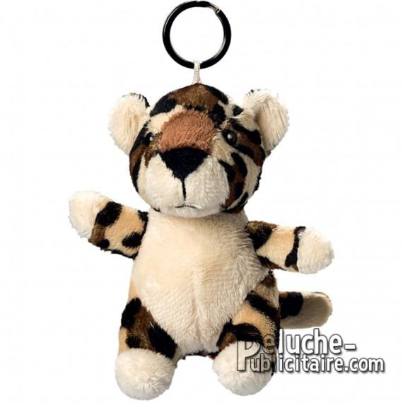 Buy Leopard Plush Keyring Size 10 cm.