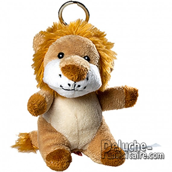 Buy Keychain Plush Lion Size 10cm. Plush to customize.