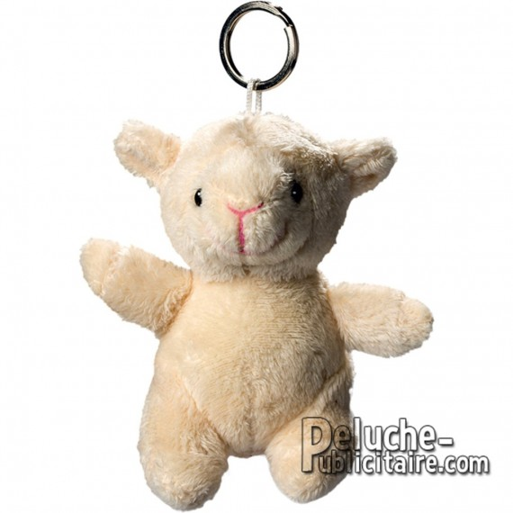 Buy Keychain Plush Sheep Size 10 cm.