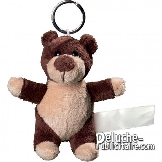 Buy Teddy Bear Keyring Size 10 cm.