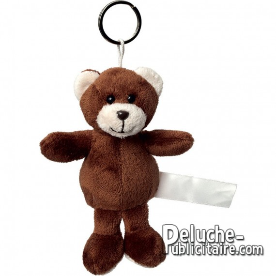 Buy Bear Plush Keychain Size 8 cm.