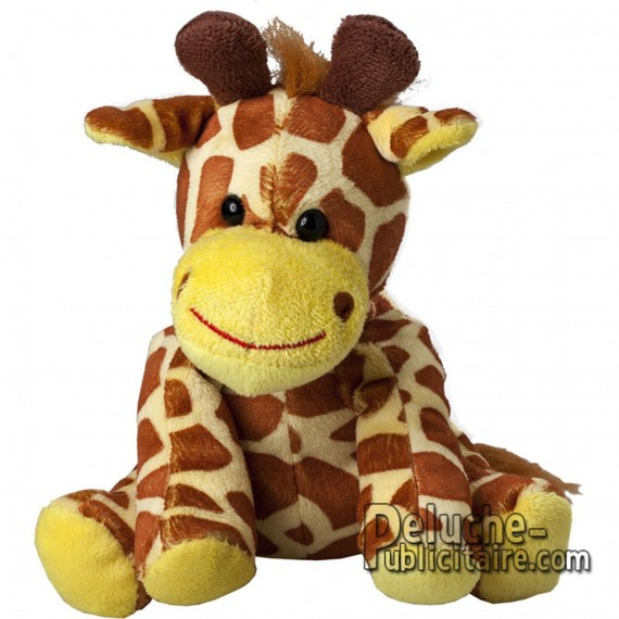 Purchase Giraffe Plush 15 cm. Plush to customize.