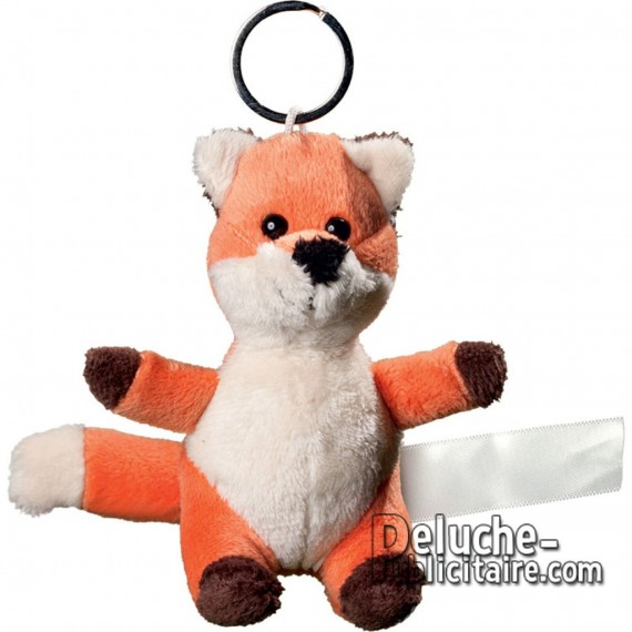 Buy Fox Keychain Plush Size 10 cm.