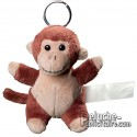 Buy Keychain Plush Monkey Size 10 cm.