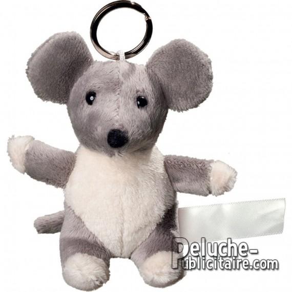 Buy Keychain Plush Mouse Size 10 cm.