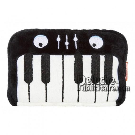 Achat peluche clavier noir 16cm. Peluche personnalisée.