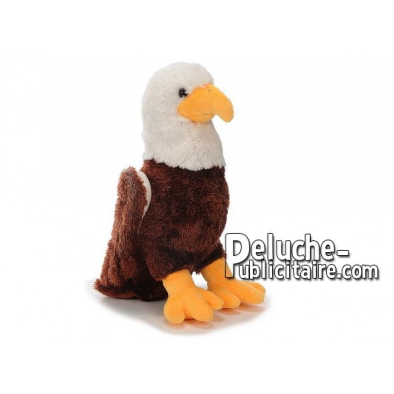 Achat peluche aigle multicolore 35cm. Peluche personnalisée.