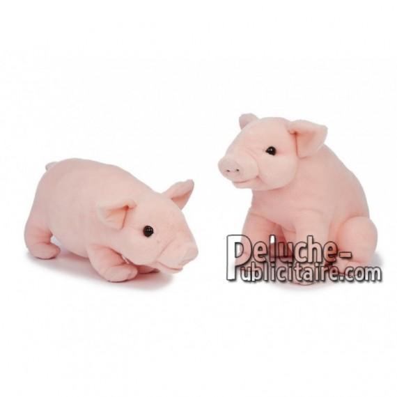 Achat peluche cochon rose 30cm. Peluche personnalisée.