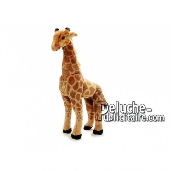 Achat peluche girafe marron 64cm. Peluche personnalisée.