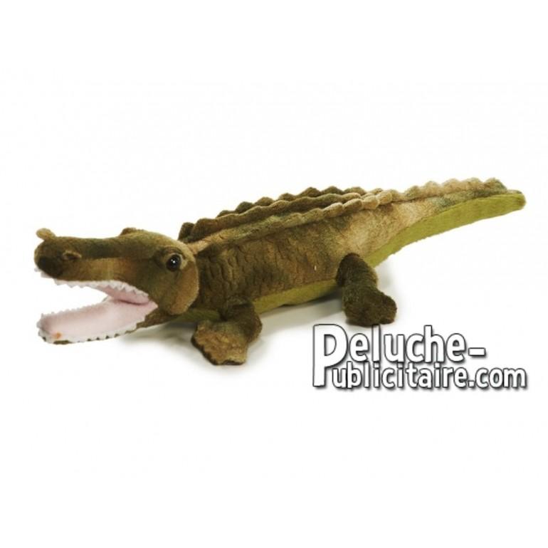 Achat peluche crocodile vert 30cm. Peluche personnalisée.