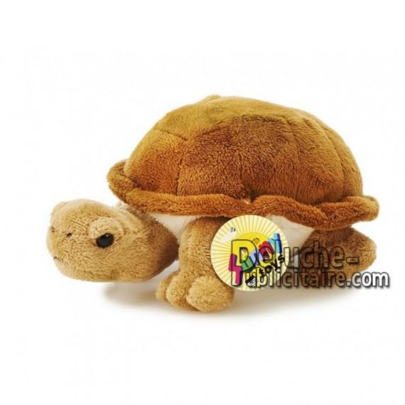 Achat peluche tortue marron 20cm. Peluche personnalisée.