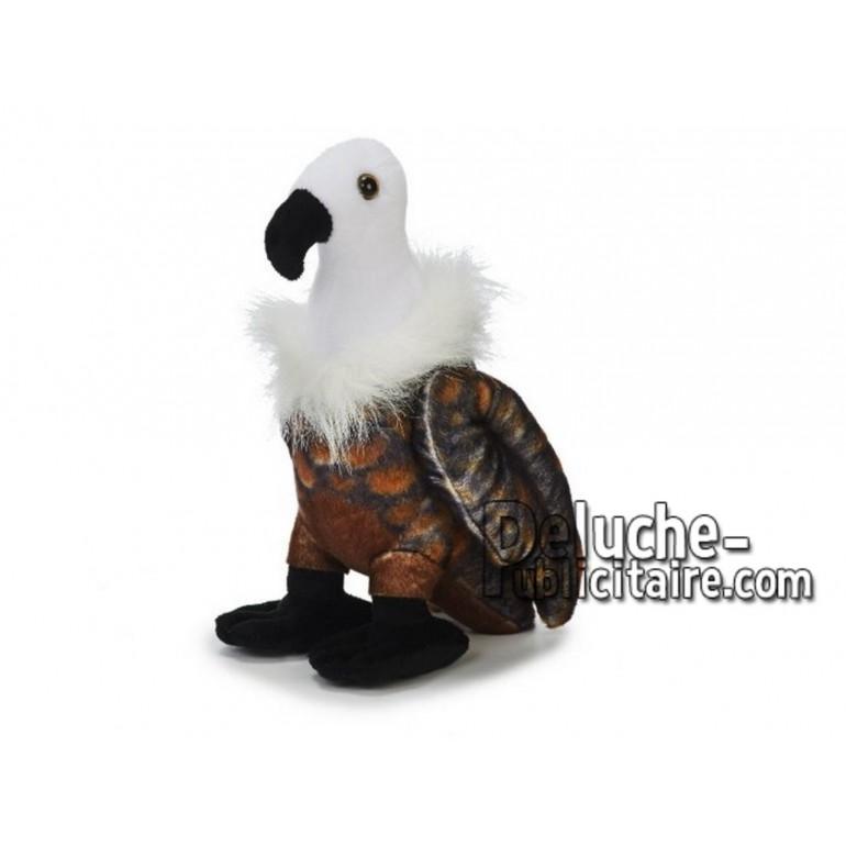 Achat peluche vautour marron 25cm. Peluche personnalisée.