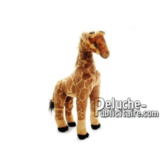 Achat peluche girafe marron 50cm. Peluche personnalisée.