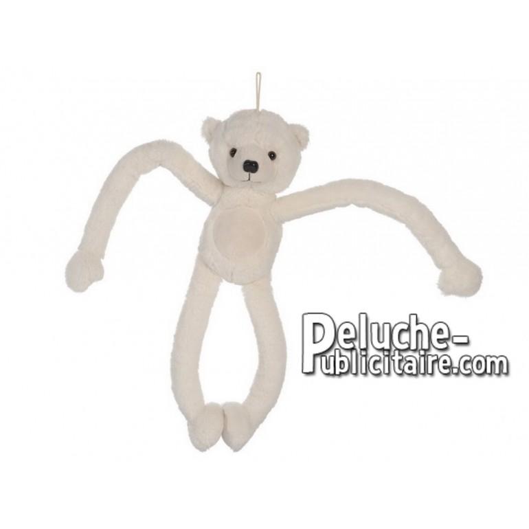 Achat peluche ours polaire blanc 50cm. Peluche personnalisée.