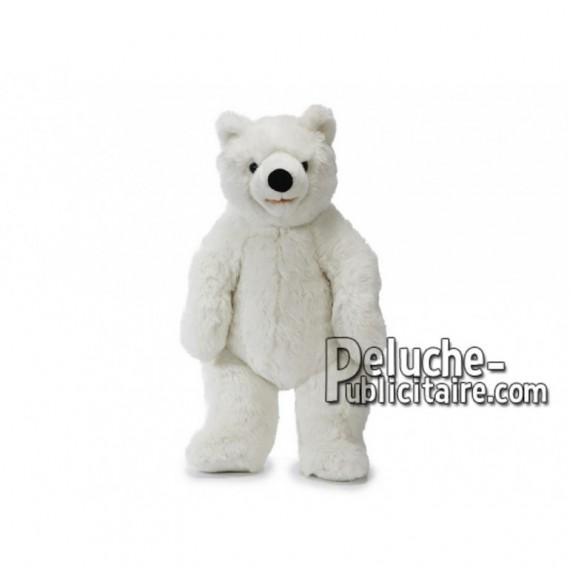 Achat peluche ours polaire blanc 60cm. Peluche personnalisée.