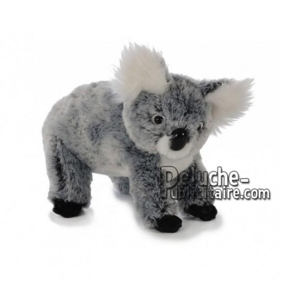 Achat peluche koala gris 22cm. Peluche personnalisée.