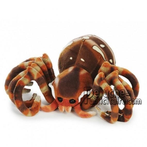 Achat peluche araignée marron 23cm. Peluche personnalisée.
