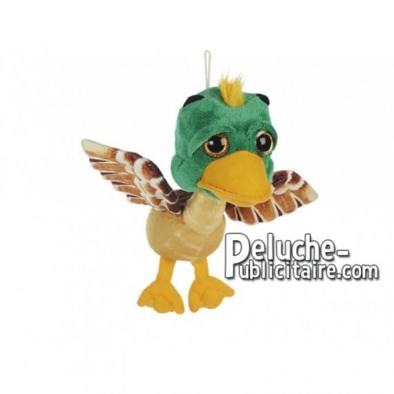 Achat peluche canard sauvage multicolore 30cm. Peluche personnalisée.