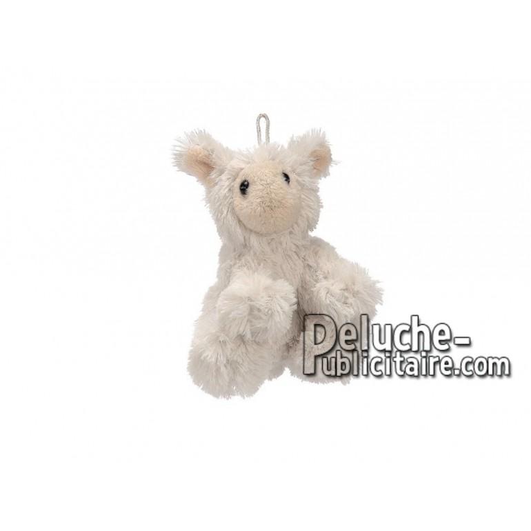 Achat peluche mouton blanc 10cm. Peluche personnalisée.