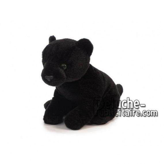 Achat peluche panthère noire noir 23cm. Peluche personnalisée.
