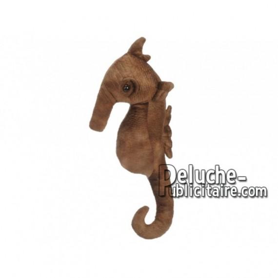 Achat peluche hippocampe multicolore 40cm. Peluche personnalisée.
