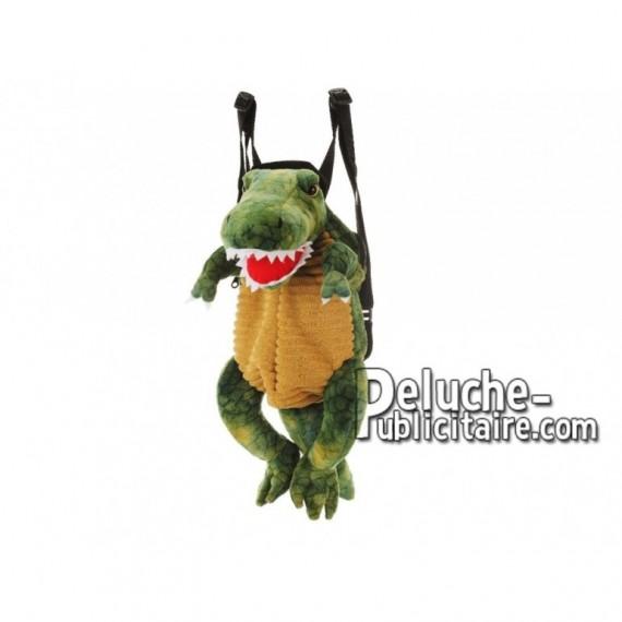 Achat peluche dinosaure vert 45cm. Peluche personnalisée.