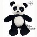 Achat peluche panda debout noir cm. Peluche personnalisée.