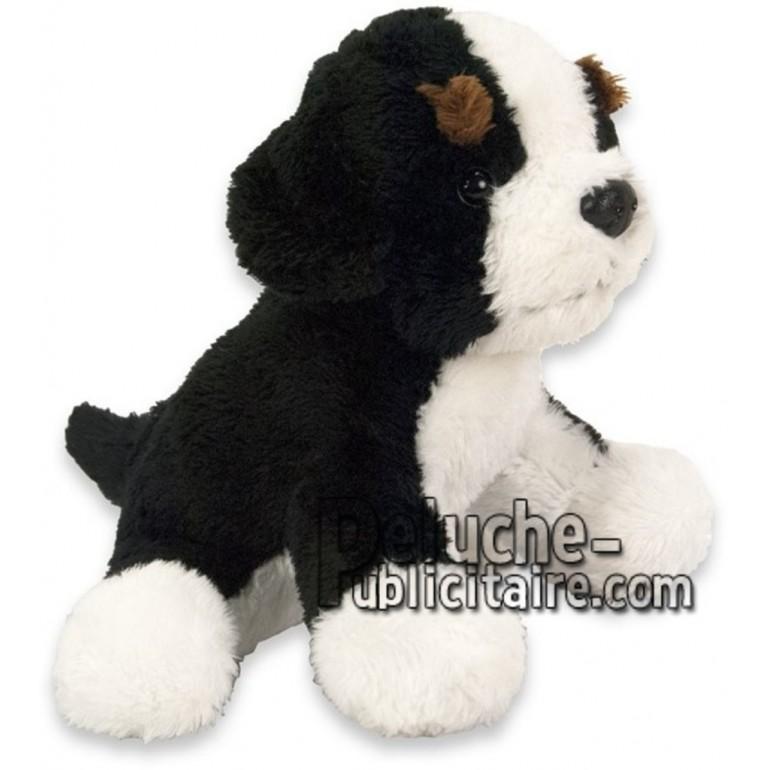 Achat peluche chien bouvier bernois noir 15cm. Peluche personnalisée.