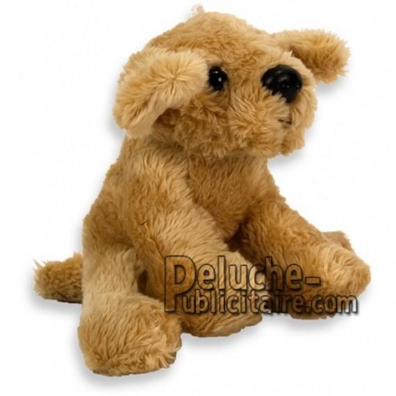 Achat peluche chien golden retriever marron 10cm. Peluche personnalisée.
