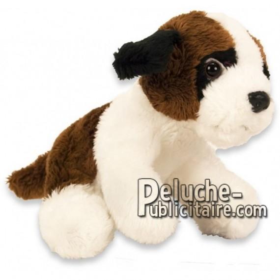 Achat peluche chien saint bernard marron 15cm. Peluche personnalisée.